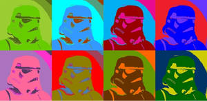 Star Wars Stormtrooper Pop Art 2