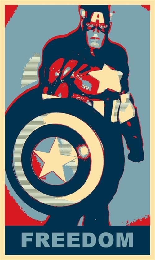 Captain America Freedom by TheGreatDevin