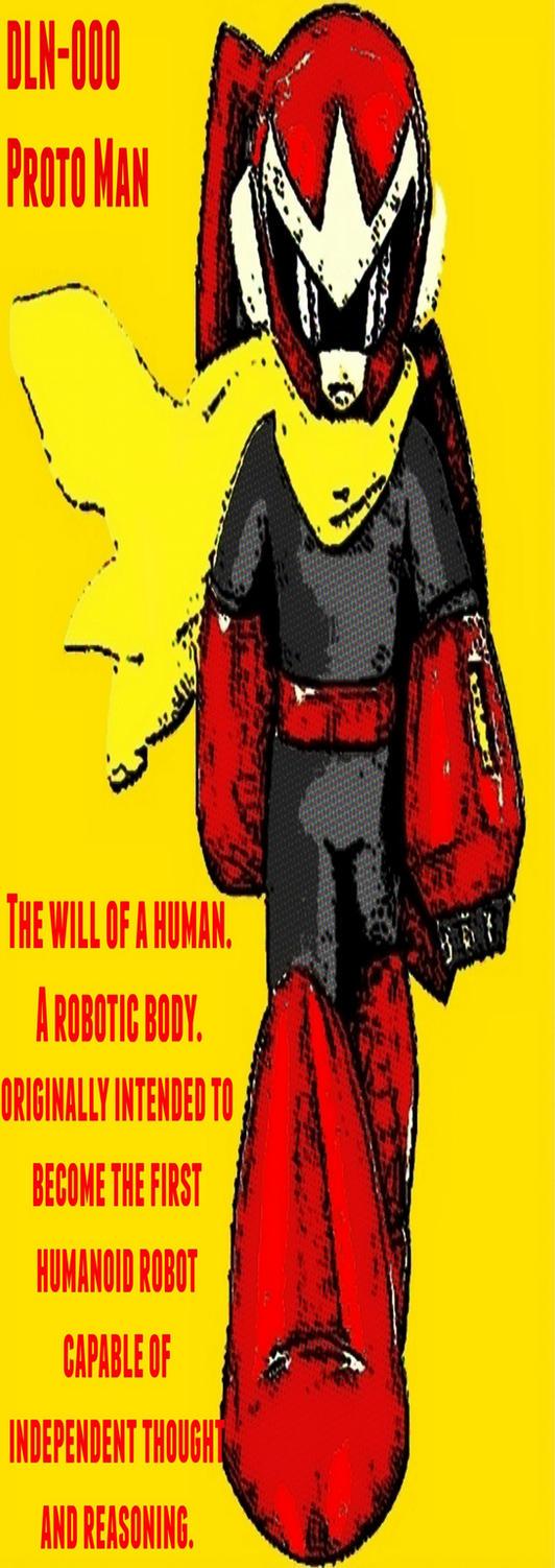 Proto Man pop art by TheGreatDevin
