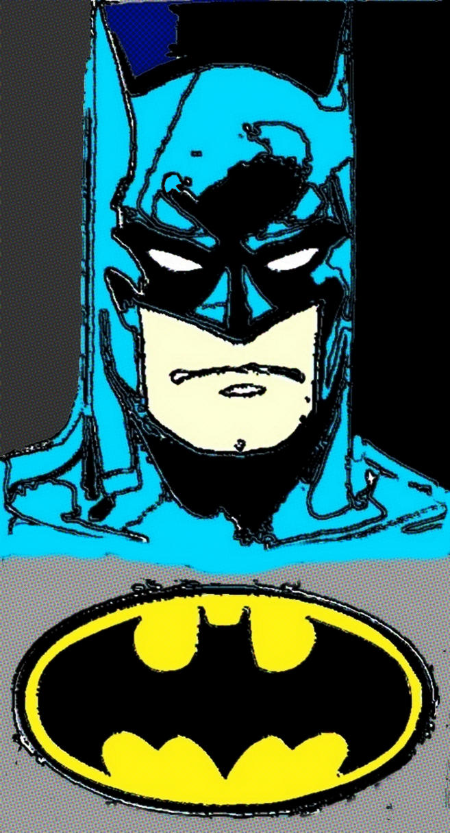 Batman comic print pop art by TheGreatDevin