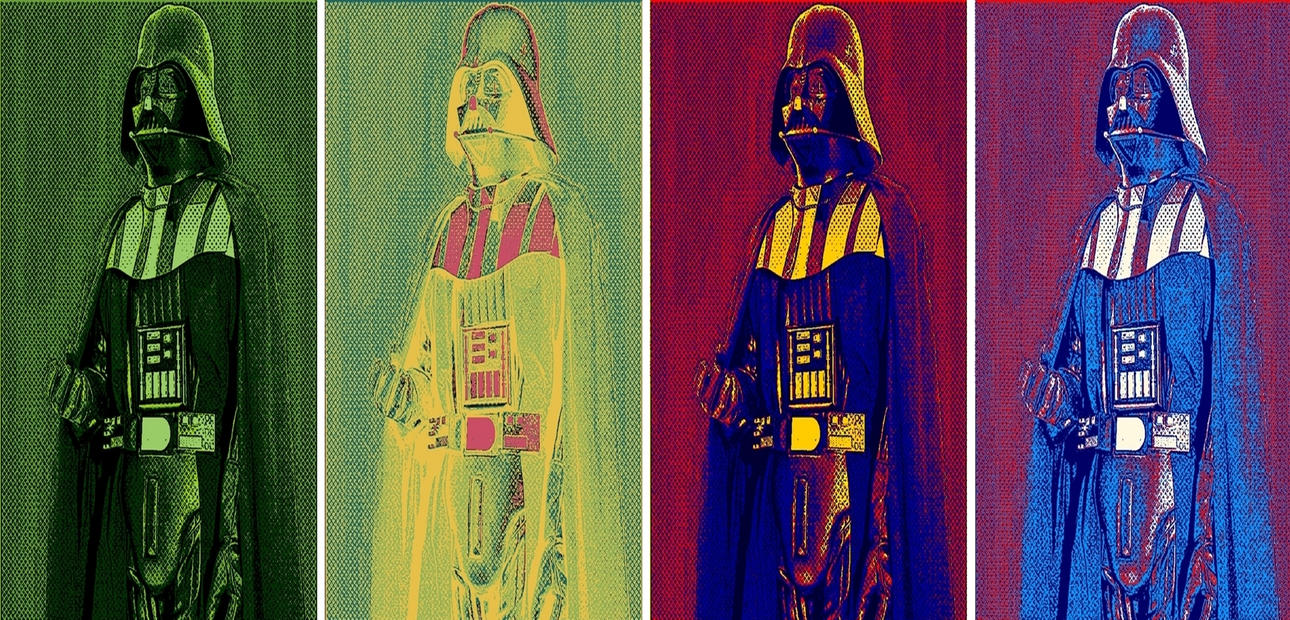 Star Wars Darth Vader pop art returns by TheGreatDevin