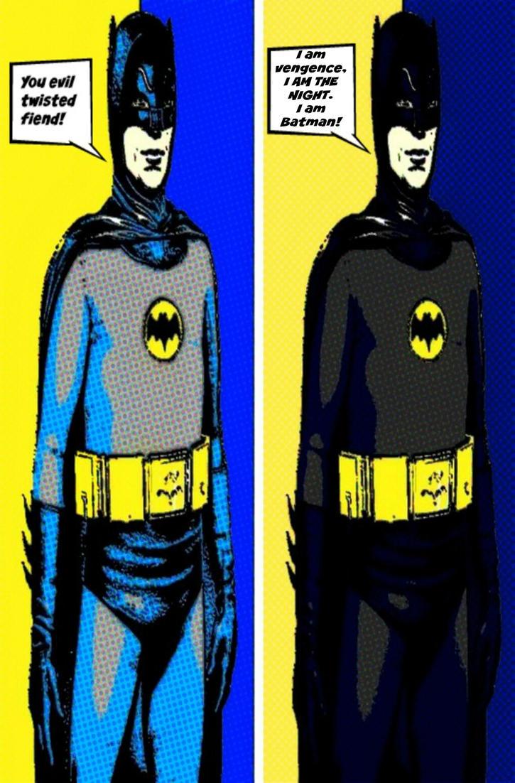 Batman 66 comic print pop art by TheGreatDevin