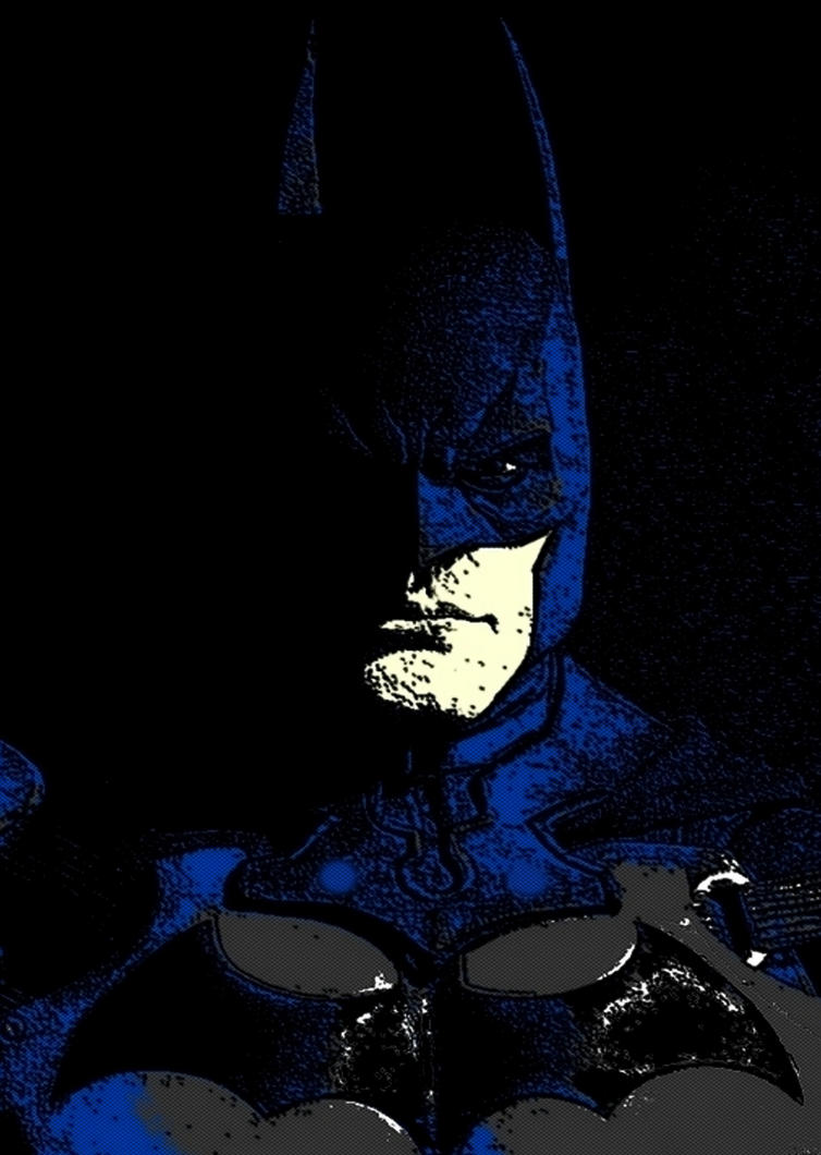 In the shadows Batman pop art by TheGreatDevin