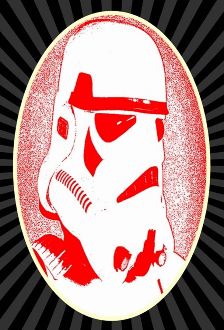Star Wars Stormtrooper Coka Cola Pop Art by TheGreatDevin