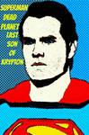 Superman comic pop art 2