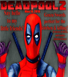 Deadpool 2 comic styled movie poster 2 by TheGreatDevin