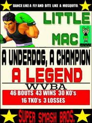 Punch-Out Super Smash Bros Ultimate Little Mac by TheGreatDevin