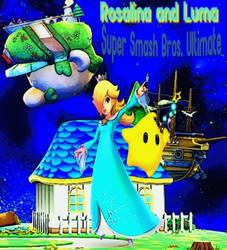Super Smash Bros. Ultimate Rosalina and Luma by TheGreatDevin