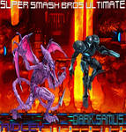Super Smash Bros. Ultimate Ridley and Dark Samus by TheGreatDevin