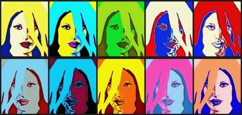 Fantastic Four Sue Storm Pop Art by TheGreatDevin