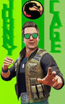 Mortal Kombat 11 Johnny Cage Actor, Hero, Father by TheGreatDevin