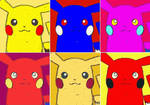 Pokemon Pikachu Pop Art by TheGreatDevin