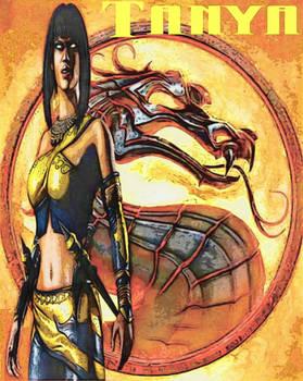 Mortal Kombat Tanya Treacherous Edenia