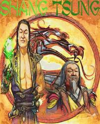 Mortal Kombat Shang Tsung Sorcerer