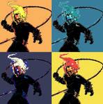 Ghost Rider Johnny Blaze Pop Art