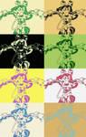 My Hero Academia Froppy Warhol Style Pop Art by TheGreatDevin