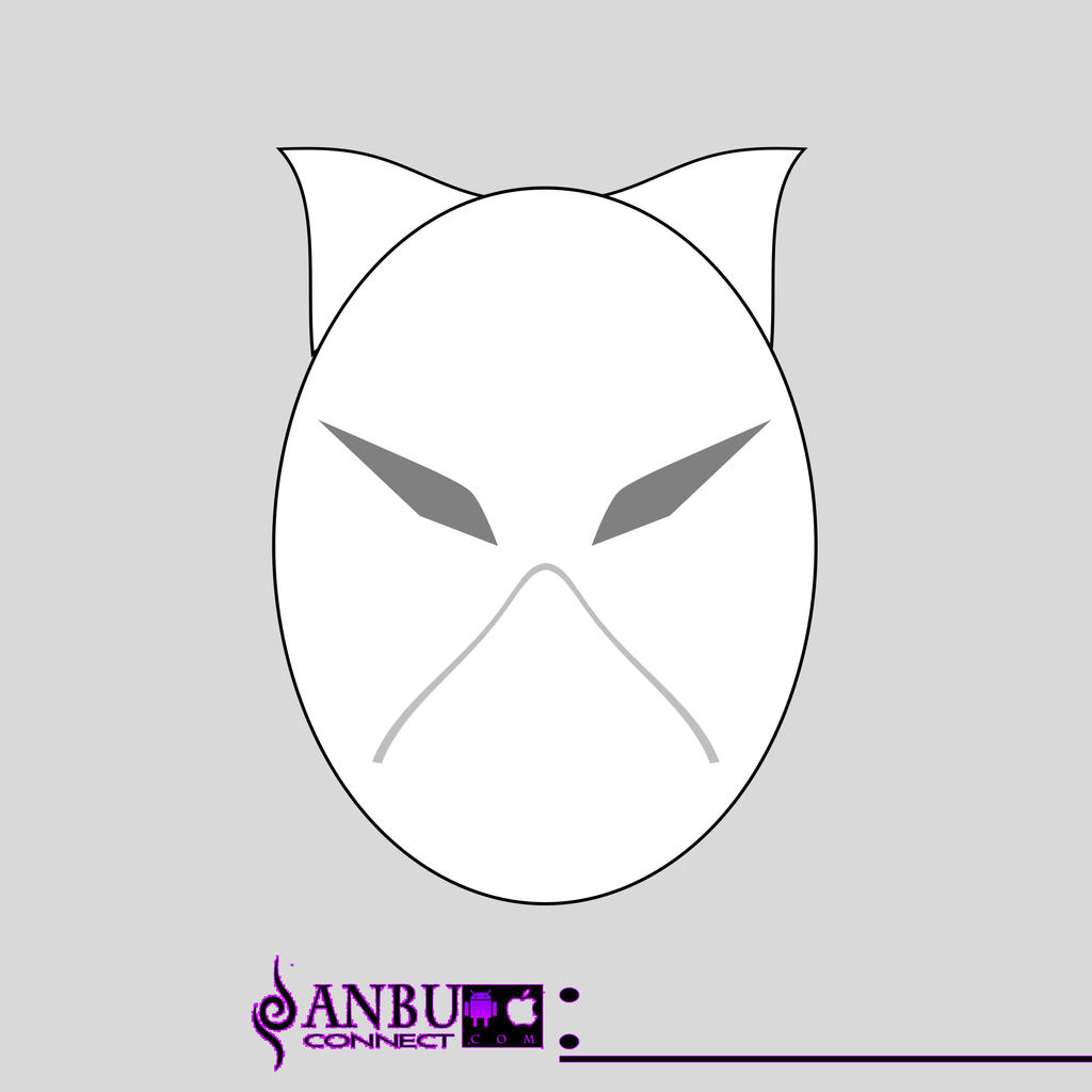 ANBU mask template Weasel redesign by ANBUconnect on DeviantArt