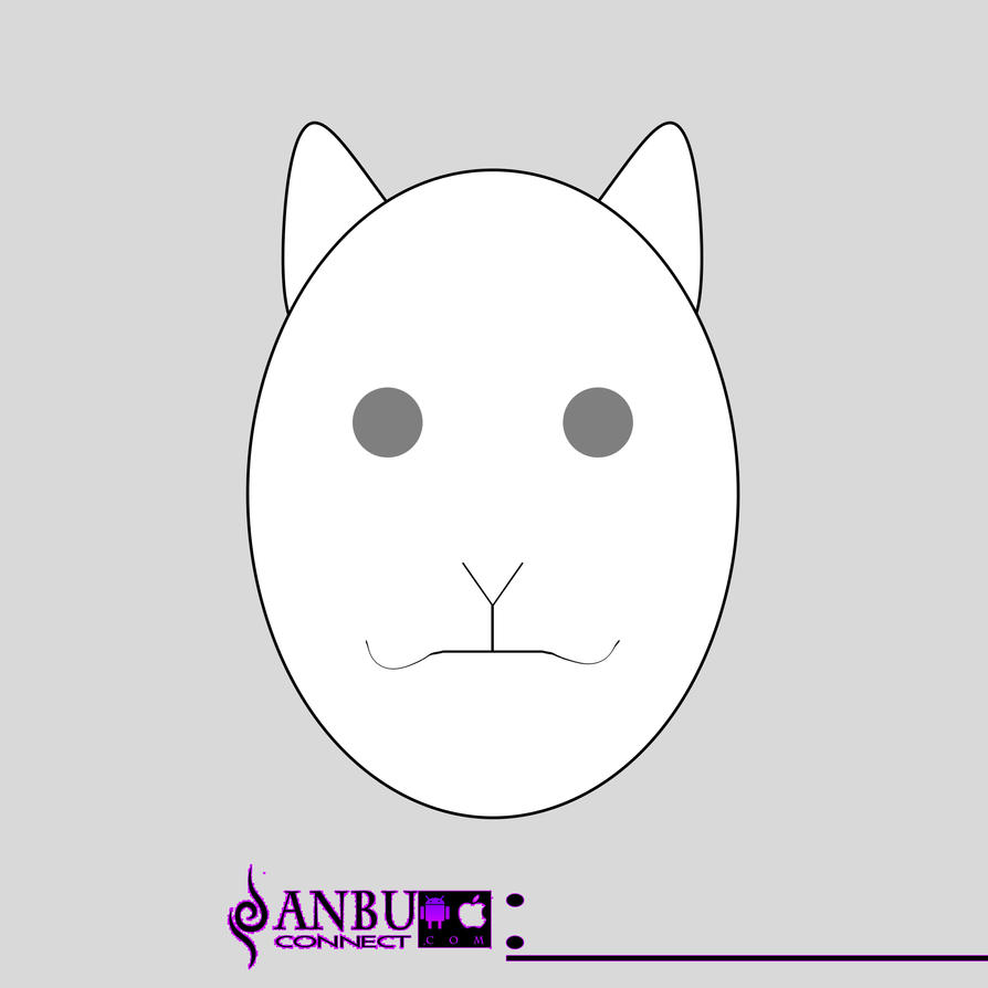 ANBU mask template Weasel by ANBUconnect on DeviantArt