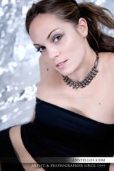 Portrait - Celine 2 by Anstellos