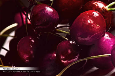 Cherries by Anstellos