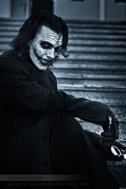 Joker Face by Anstellos