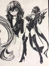 Fem joker and kasumi by UYENTHANHTCN