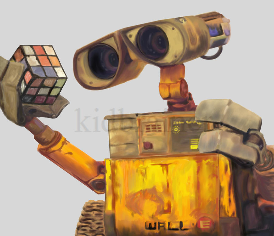 Wall-E by kidbrainer