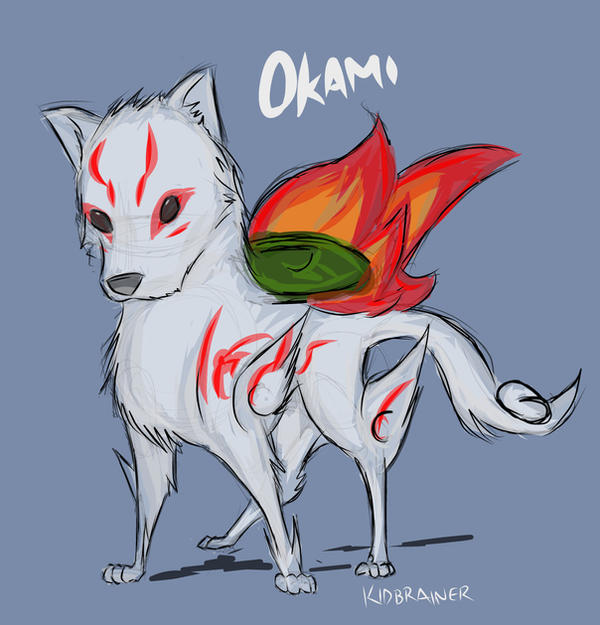 Chibi Okami by kidbrainer on deviantART
