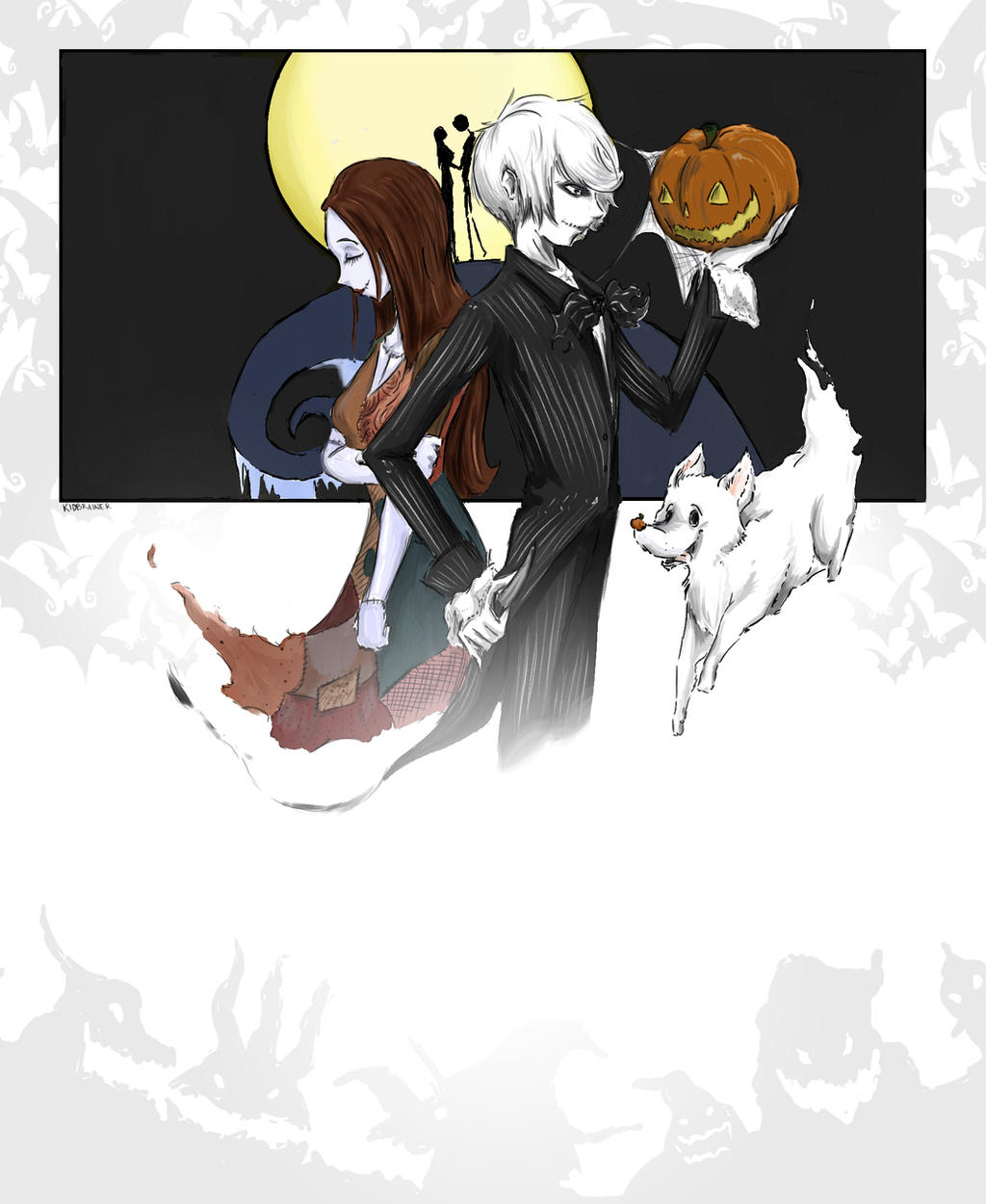 The Nightmare Before Christmas by kidbrainer on DeviantArt