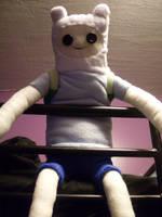 Finn Plushie by kidbrainer