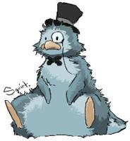 Mr.Penguin by kidbrainer