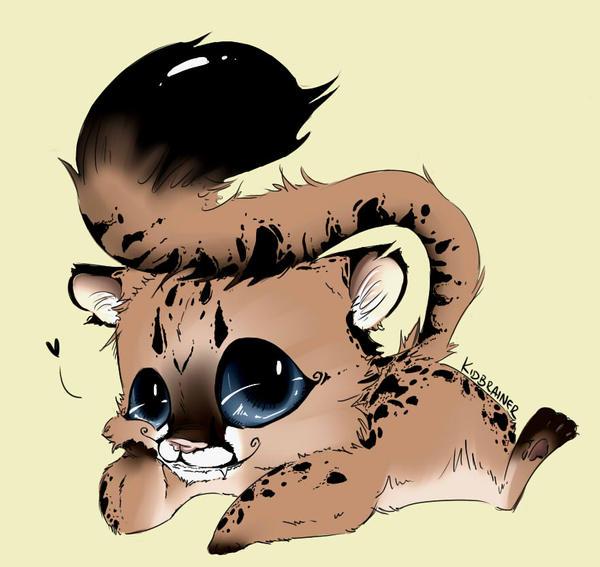 Baby Cougar by kidbrainer on DeviantArt