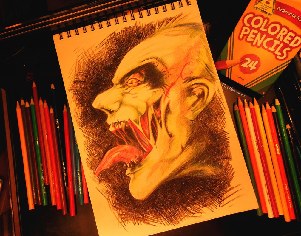 The Joker by kidbrainer