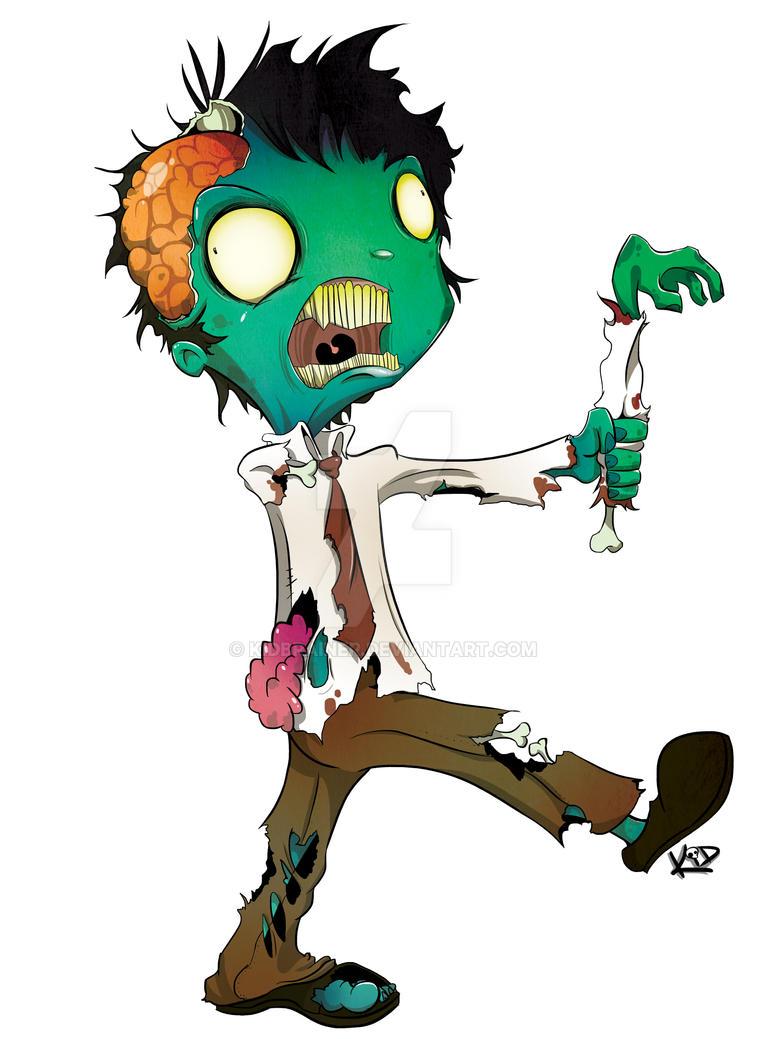 Zombie Walk by kidbrainer