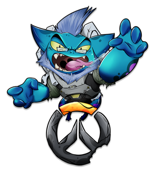 Overwatch Monsters Tournament Logo