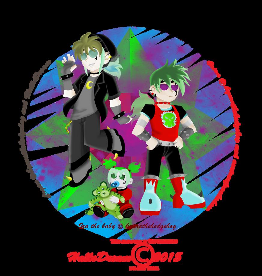 Amber's Future kids by HalloDream