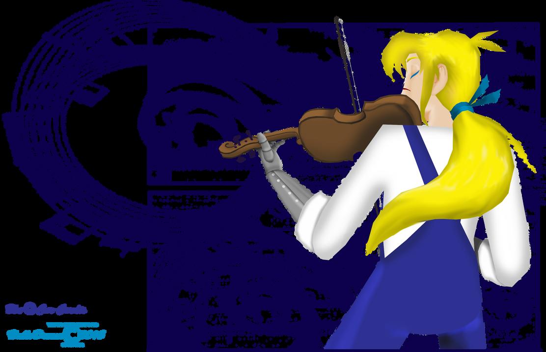 Violinist by HalloDream