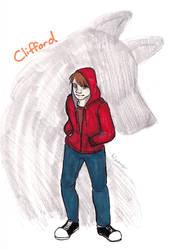 Inktober day 17 Clifford by kcsketch
