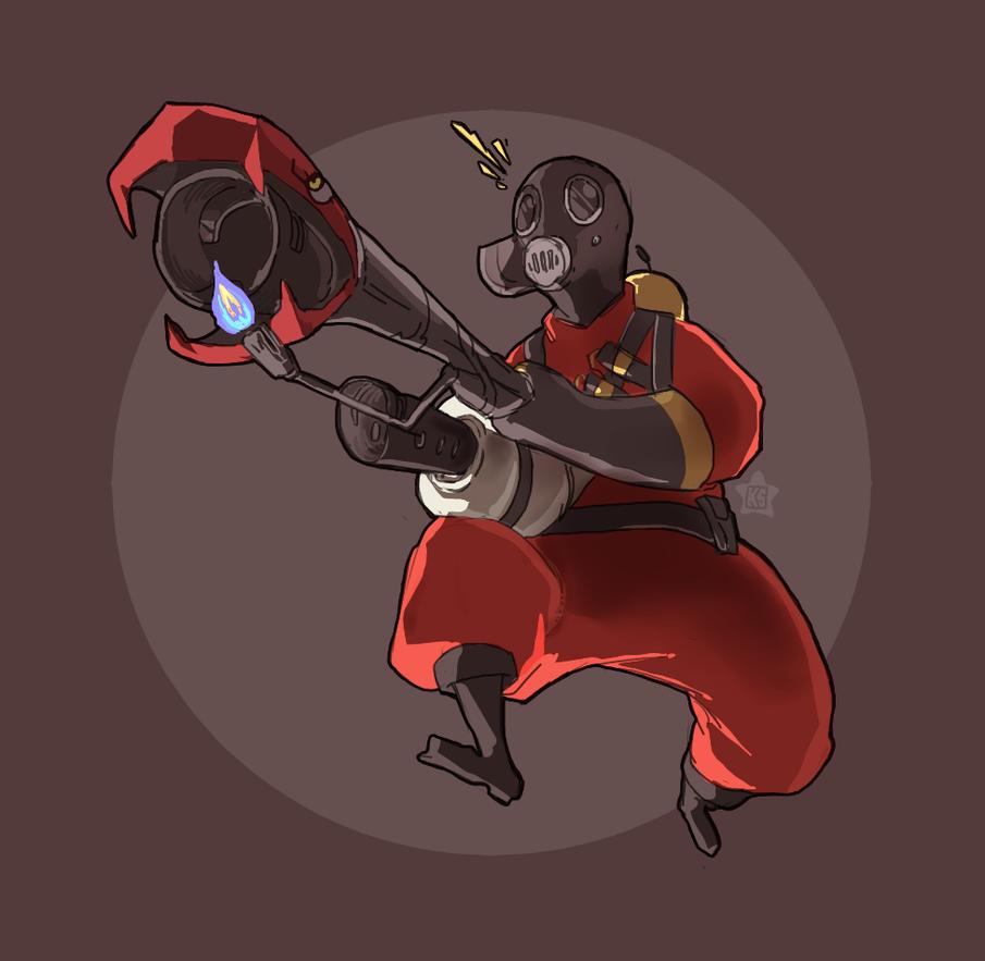 Pyroooo by robotstar