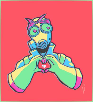 burning love by robotstar