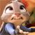 Zootopia emote - Judy Hopps #3