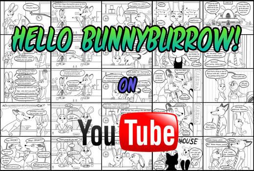 ''Hello Bunnyburrow!'' on YouTube [Link see below]