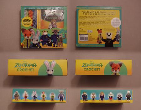 Zootopia Item: Zootopia Crochet Set