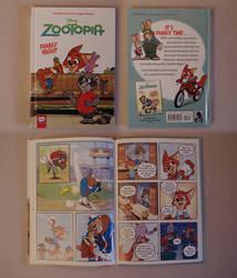 Zootopia Item: Family Night Graphic Novel by HyenaTig