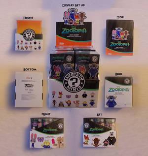 Zootopia Item: Funko Mystery Minis Shop Display