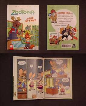 Zootopia Item: A Hard Day's Work Graphic Novel