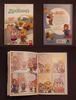 Zootopia Item: School Days Graphic Novel