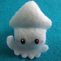Squid Mini Plushie by Mimi-Mushroom