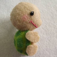 Mini Tortoise Plushie by Mimi-Mushroom