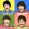 The Beatles by Mimi-Mushroom